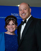 Lisa Pevaroff-Cohn, left, and former White House chief economic advisor Gary Cohn arrive for the 2018 White House Correspondents Association Annual Dinner at the Washington Hilton Hotel on Saturday, April 28, 2018.<br /> Credit: Ron Sachs / CNP<br /> <br /> (RESTRICTION: NO New York or New Jersey Newspapers or newspapers within a 75 mile radius of New York City)