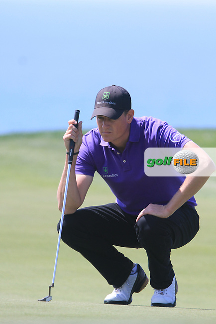 Maarten Lafeber (NED) on the 18th on Day 2 of the 2012 Sicilian Open at Verdura Golf and Spa Resort, Sicily, Italy...(Photo Jenny Matthews/www.golffile.ie)