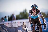 Quentin Jauregui (FRA/AG2R - La Mondiale) in the race finale<br /> <br /> Stage 15: Tineo to Santuario del Acebo (154km)<br /> La Vuelta 2019<br /> <br /> ©kramon