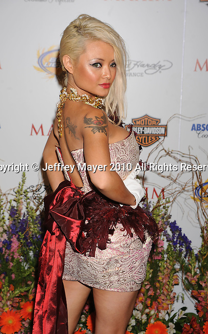 LOS ANGELES, CA. - May 19: Tila Tequila arrives at the 11th Annual MAXIM HOT 100 Party at Paramount Studios on May 19, 2010 in Los Angeles, California.