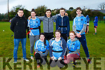 At the Kerry ETB tag rugby tournament at Tralee Sports Complex on Friday were Coláiste Gleann Lí Tralee