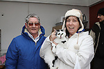 Joe Doherty and Cynthia O'Neill take home their new cat Lucy at the DAR Cat Rehoming Day...Photo NEWSFILE/Jenny Matthews..(Photo credit should read Jenny Matthews/NEWSFILE)