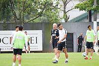 SANTOS, SP, 14.10.2015 - FUTEBOL-SANTOS - Gabriel, jogador do Santos durante sessão de treinamento no Centro de Treinamento Rei Pelé nesta quarta-feira, 14. (Foto: Flavio Hopp/Brazil Photo Press)