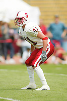 Brian Bentrott during the Spring Game on April 26, 2003 at Stanford Stadium.<br />