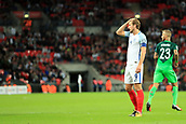 5th October 2017, Wembley Stadium, London, England; FIFA World Cup Qualification, England versus Slovenia; Harry Kane, the England captain