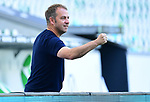 """Trainer Hans-Dieter """"Hansi"""" Flick (Bayern)<br />Wolfsburg, 27.06.2020: nph00001: , Fussball Bundesliga, VfL Wolfsburg - FC Bayern Muenchen<br />Foto: Tim Groothuis/Witters/Pool//via nordphoto<br /> DFL REGULATIONS PROHIBIT ANY USE OF PHOTOGRAPHS AS IMAGE SEQUENCES AND OR QUASI VIDEO<br />EDITORIAL USE ONLY<br />NATIONAL AND INTERNATIONAL NEWS AGENCIES OUT"""