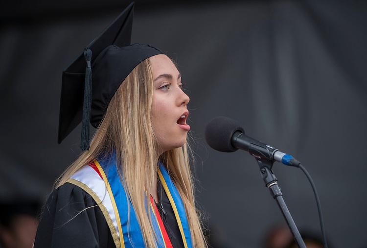 UCSB commencement 2019, Sunday ceremonies  EmmaClaire_Brock