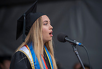 UCSB commencement 2019, Sunday ceremonies  EmmaClaire_Brock