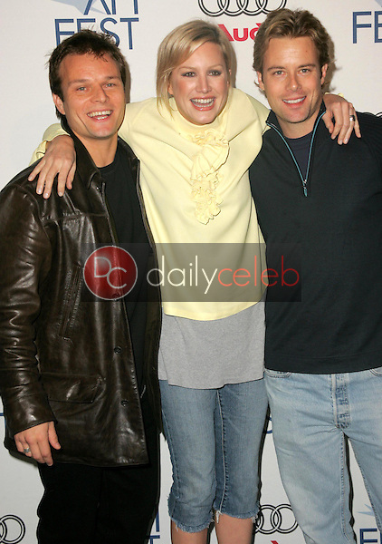 """Alec Newman with Madchen Amick and Brad Rowe<br />at the AFI FEST 2005 Screening of """"Four Corners Of Suburbia"""". Audi Pavilion, Hollywood, CA. 11-09-05<br />Dave Edwards/DailyCeleb.com 818-249-4998"""