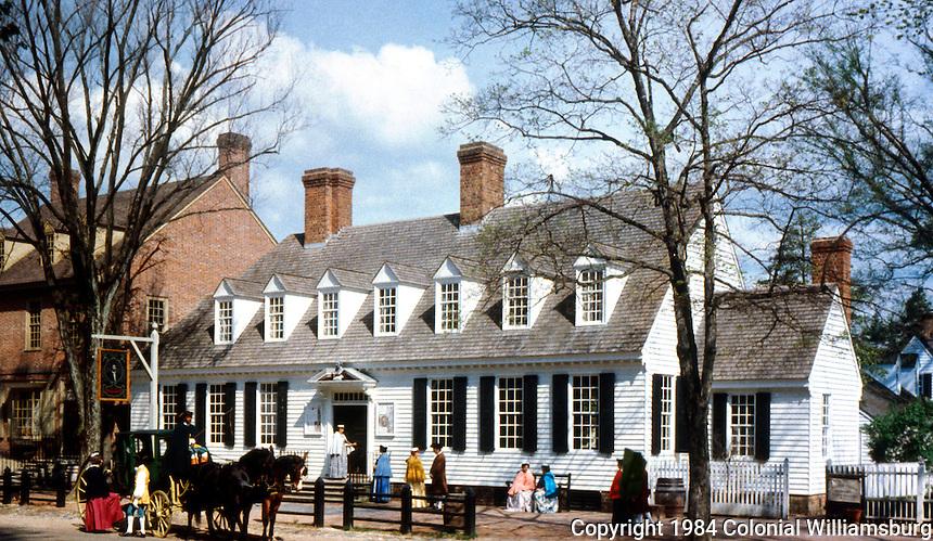 Williamsburg:  Raleigh Tavern.