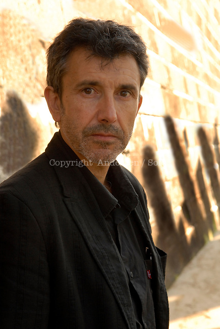 Christian Garcin, French writer in 2009.