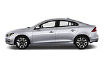 Car Driver side profile view of a 2018 Volvo S60 T5 4 Door Sedan Side View