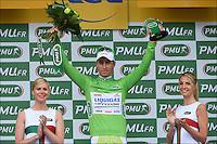 Peter Sagan (Svk) of Liquigas Cannondale Team ..Podium .Rouen / St Quentin.5/7/2012.Tour de France - Vise / Tournai.Foto Insideofoto / Kalut - De Voecht / Photo News / Panoramic.ITALY ONLY