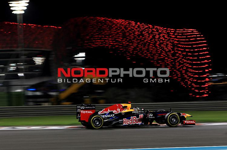 01.-04.11.2012, Yas-Marina-Circuit, Abu Dhabi, UAE, Grosser Preis von Abu Dhabi, im Bild Sebastian Vettel (GER), Red Bull Racing <br /> for Austria &amp; Germany Media usage only!<br />  Foto &copy; nph / Mathis