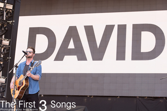 David Nail performs onstage during The Tortuga Music Festival in Fort Lauderdale, Florida.