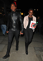 Lemar Obika and guest at the &quot;Kinky Boots&quot; gala performance departures, Adelphi Theatre, The Strand, London, England, UK, on Tuesday 29 May 2018.<br /> CAP/CAN<br /> &copy;CAN/Capital Pictures