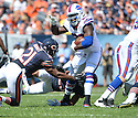 Buffalo Bills Anthony Dixon (26) during a game against the Chicago Bears on September 7, 2014 at Soldier Field in Chicago, IL. The Bills beat the Bears 23-20.
