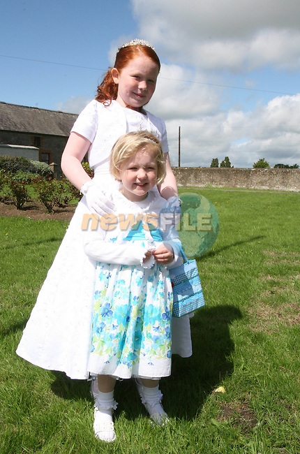 Alex and Sara Hynes at the Communion in Duleek Church...Photo NEWSFILE/Jenny Matthews.(Photo credit should read Jenny Matthews/NEWSFILE)....This Picture has been sent you under the condtions enclosed by:.Newsfile Ltd..The Studio,.Millmount Abbey,.Drogheda,.Co Meath..Ireland..Tel: +353(0)41-9871240.Fax: +353(0)41-9871260.GSM: +353(0)86-2500958.email: pictures@newsfile.ie.www.newsfile.ie.FTP: 193.120.102.198.
