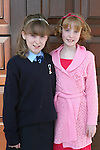Natasha Martin with her sister Daniella at the Ballymakenny NS Confirmation...Photo NEWSFILE/Jenny Matthews.(Photo credit should read Jenny Matthews/NEWSFILE)....This Picture has been sent you under the condtions enclosed by:.Newsfile Ltd..The Studio,.Millmount Abbey,.Drogheda,.Co Meath..Ireland..Tel: +353(0)41-9871240.Fax: +353(0)41-9871260.GSM: +353(0)86-2500958.email: pictures@newsfile.ie.www.newsfile.ie.FTP: 193.120.102.198.