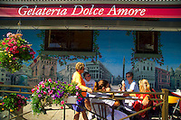 Vancouver, BC, Canada, August 2006. Fun shopping and Italian coffee bars at the Commercial Drive. Squeezed in between the Rocky Mountains and the Pacific Ocean, Vancouver has a special feel. Photo by Frits Meyst/Adventure4ever.com