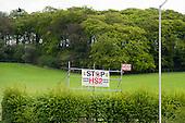 Vote UKIP Stop HS2 roadside posterg in Buckinghamshire