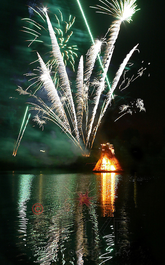 Center Parcs Fireworks & Bonfire
