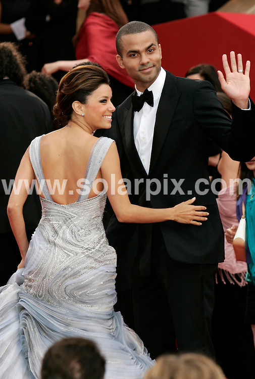 **ALL ROUND EXCLUSIVE PICTURES FROM SOLARPIX.COM**.**SYNDICATION RIGHTS FOR UK AND SPAIN ONLY**.Eva Longoria Parker and husband Tony Parker at the Bright Star premiere, 62nd Cannes Film Festival Cannes, France.This pic:  Eva Longoria Parker and husband Tony Parker.JOB REF:  9012     CPR / Heinz       DATE:  15.05.09.**MUST CREDIT SOLARPIX.COM OR DOUBLE FEE WILL BE CHARGED**.**ONLINE USAGE FEE GBP 50.00 PER PICTURE - NOTIFICATION OF USAGE TO PHOTO @ SOLARPIX.COM**.**CALL SOLARPIX : +34 952 811 768 or LOW RATE FROM UK 0844 617 7637**