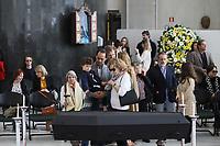 SÃO PAULO, SP, 02.09.2019 - POLITICA-SP - Deuzeni Goldman, Esposa de Alberto Goldman, participa do velório do Ex-Governador de São Paulo, Alberto Goldman, na Assembléia Legislativa do Estado de São Paulo, nesta segunda-feira, 2. (Foto Charles Sholl/Brazil Photo Press/Folhapress)
