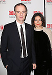 Brian F. O'Byrne and Heather O'Byrne attend the 'Outside Mullinger' Broadway opening night after party at The Copacabana on January 23, 2014 in New York City.