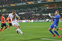 Edin Dzeko of AS Roma scores the goal of 0-3 for his side<br /> Istanbul 28-11-2019 <br /> Football Europa League 2019/2020 <br /> Istanbul Basaksehir - AS Roma    <br /> Photo Gino Mancini / Insidefoto