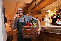Europe/France/Provence-Alpes-Côte d'Azur/06/Alpes-Maritimes/Cannes:  Luc Giorsetti  - Restaurant: Aux Bons Enfants [Non destiné à un usage publicitaire - Not intended for an advertising use]