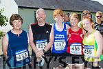 Joan O'Sullivan Gneeveguilla, Brian, Tony, Lorna, Muireann White Tralee at the Kilgobnet 5k on Sunday morning