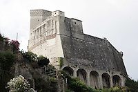 Una veduta del Castello di Lerici.<br /> A view of the Castle of Lerici.<br /> UPDATE IMAGES PRESS/Riccardo De Luca