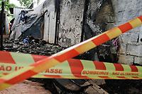 03.12.2019 - Duas crianças morrem após incêndio atingir barraco em SP