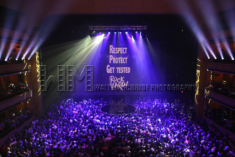 Crowds and Atmosphere at Broadway Cares/Equity Fights AIDS' <br /> &quot;Broadway Bares, Rock Hard!&quot; at Hammerstein Ballroom June 22, 2014 in New York City.