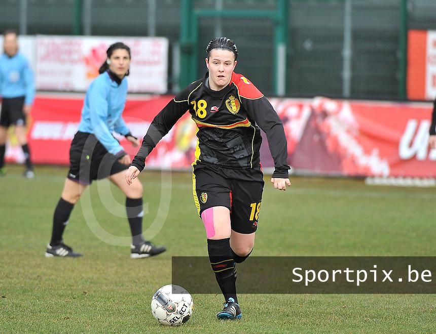 Russia U19 - Belgium U19 : Maria Laura Aga Martinez.foto DAVID CATRY / Nikonpro.be