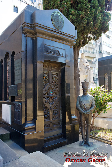 Juan Lavalle Tomb (1797-1841), general, governor of Buenos Aires province, La Recoleta Cemetery