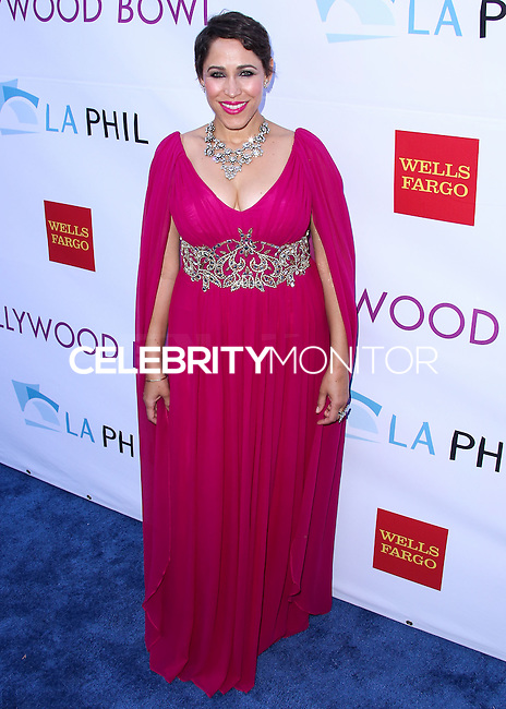 HOLLYWOOD, LOS ANGELES, CA, USA - JUNE 21: China Forbes at the 2014 Hollywood Bowl Opening Night And Hall Of Fame Inductions held at the Hollywood Bowl on June 21, 2014 in Hollywood, Los Angeles, California, United States. (Photo by Xavier Collin/Celebrity Monitor)