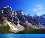 Canada, Alberta, Banff National Park, Moraine Lake.  Credit as: Christopher Talbot Frank