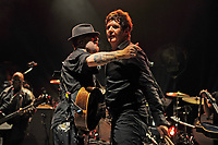 LONDON, ENGLAND - SEPTEMBER 8: Dave Stewart and Clem Burke performing at Shepherd's Bush Empire on September 8, 2017 in London, England.<br /> CAP/MAR<br /> &copy;MAR/Capital Pictures