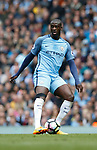 Yaya Toure of Manchester City during the English Premier League match at the Etihad Stadium, Manchester. Picture date: May 6th 2017. Pic credit should read: Simon Bellis/Sportimage