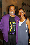 """General Hospital and Love Boat's Ted Lange """"Issac"""" and Passions Chrystee Pharris perform in Ted Lange's """"The Journals of Osborne P. Anderson"""" at The National Black Theatre Festival with a week of plays, workshops and much more with an opening night gala of dinner, awards presentation followed by Black Stars of the Great White Way followed by a celebrity reception. It is an International Celebration and Reunion of Spirit. (Photo by Sue Coflin/Max Photos)"""