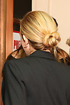 Julia Roberts, hair detail attends the Garry Marshall Tribute Performance of 'Pretty Woman:The Musical' at the Nederlander Theatre on August 1, 2018 in New York City.