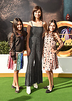 "WESTWOOD, CA - JANUARY 11: The GEM sisters (L-R) Mercedes Lomelino, Giselle Lomelino and Evangeline Lomelino  attends the Premiere of Universal Pictures' ""Dolittle"" at Regency Village Theatre on January 11, 2020 in Westwood, California.<br /> CAP/ROT/TM<br /> ©TM/ROT/Capital Pictures"