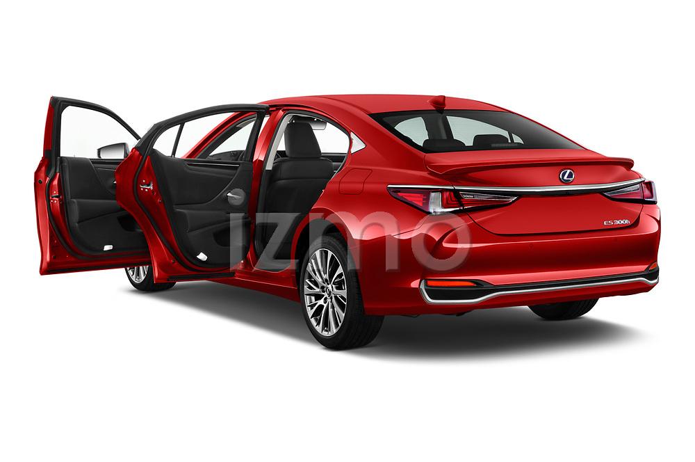Car images close up view of a 2020 Lexus ES 300h 4 Door Sedan doors