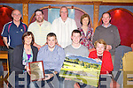 Pictured at the Deerpark presentation evening in the Killarney Avenue Hotel on Saturday night were Mary Murphy, lady captain, Damien Fleming, Irish Open and National Match play champion, Kieran Murphy, Munster Junior gents strokeplay champion, Kay O'Sullivan, President, Danny Looney, Vice Chairman, Ger O'Connor, Kerry County Board, Aidan O'Keeffe, Gents captain, Nora and Tim Murphy...