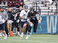 Washington, DC - April 7, 2018: Providence Friars Brendan Kearns (6) in action during game between Providence and Georgetown at  Cooper Field in Washington, DC.   (Photo by Elliott Brown/Media Images International)