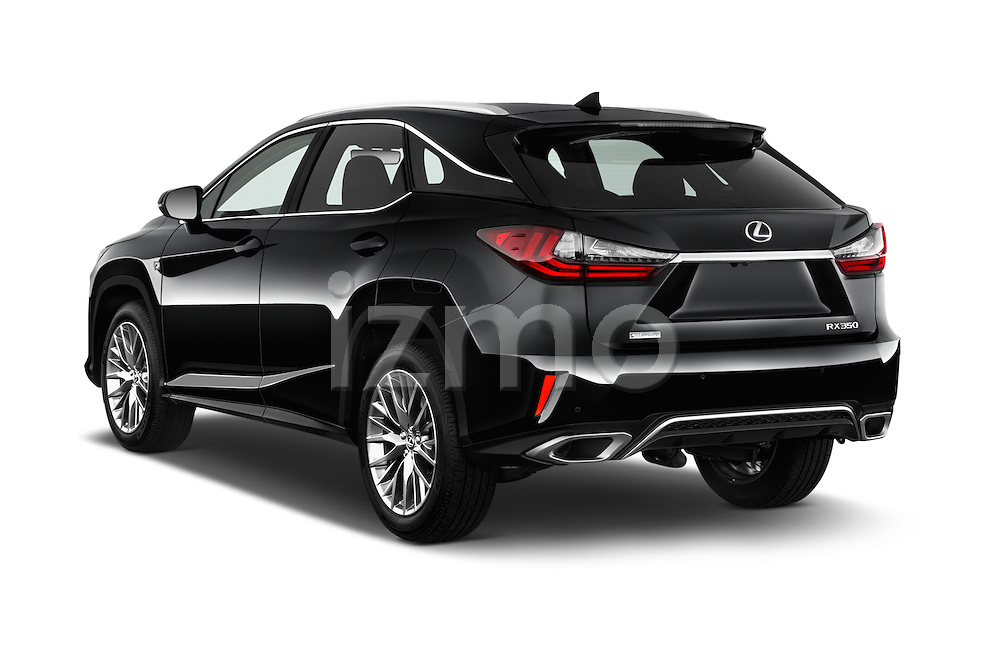 Car pictures of rear three quarter view of 2016 Lexus RX F SPORT 5 Door Suv 2WD Angular Rear