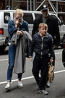 www.acepixs.com<br /> January 21, 2017 New York City<br /> <br /> Cate Blanchett and Ignatius Upton seen arriving to a performance of 'The Present' on Broadway on January 21, 2017 in New York City.<br /> <br /> Credit: Kristin Callahan/ACE Pictures<br /> <br /> <br /> Tel: 646 769 0430<br /> e-mail: info@acepixs.com