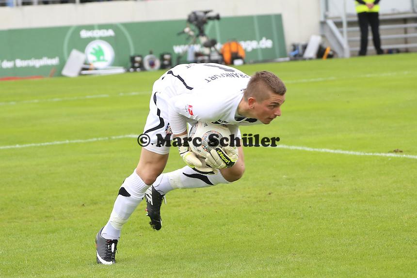 Patric Klandt (FSV) haelt - FSV Frankfurt vs. FC Ingolstadt, 8. Spieltag, Frankfurter Volksbank Stadion